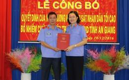 Luân chuyển, bổ nhiệm cán bộ Viện KSNDTC