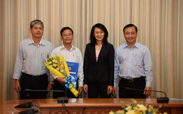 Ông Trần Quang Thảo giữ chức Chủ tịch UBND Quận 8