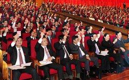 """""""Chốt"""" số lượng 180 ủy viên trung ương chính thức, 20 dự khuyết"""