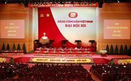 Từ 14 giờ 23-1, Đại hội XII bắt đầu xem xét công tác nhân sự