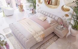 """Chiêm ngưỡng phòng ngủ có khả năng """"biến hóa"""" thần kỳ vào buổi đêm của quý cô độc thân"""