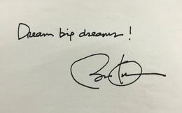 Hãy mơ giấc mơ lớn như những người giàu nhất sàn chứng khoán đã làm