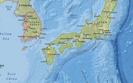 Động đất 6,4 độ Richter rung chuyển miền Nam Nhật Bản