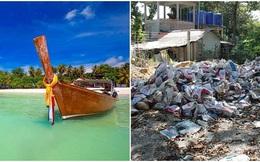 """Bỏ hơn 80 triệu đến chốn """"thiên đường"""" ở Thái Lan, du khách Anh ngã ngửa vì lạc vào xứ sở rác thải"""