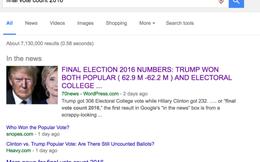 Google thừa nhận có lỗi thuật toán khiến kết quả tìm kiếm về bầu cử bị sai lệch