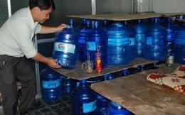 Báo động chất lượng nước uống đóng chai