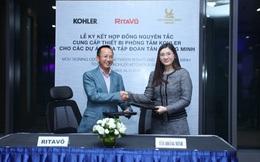 RitaVõ ký kết hợp đồng nguyên tắc cung cấp thiết bị phòng tắm Kohler cho các dự án Tân Hoàng Minh