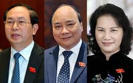 Các vị trí lãnh đạo bắt buộc là Đại biểu Quốc hội đều trúng cử