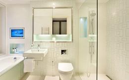 Gợi ý tuyệt vời bố trí phòng tắm cho nhà chật