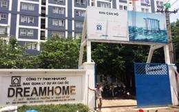 Dream Home Luxury: Bàn giao nhà chưa hoàn thiện, dân ở chứng kiến sập giàn giáo