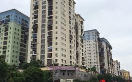 """Hà Nội: """"Ghê răng"""" nhìn những tòa nhà tái định cư dọa sập"""