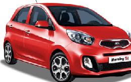 Kia Morning lần đầu chiếm vị trí số một top 10 ôtô bán chạy