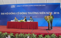 ĐHCĐ Kim Long: Đã bán hết danh mục cổ phiếu dầu khí, hoàn tất giải thể trong tháng 10