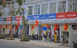 """Lãnh đạo quận Thanh Xuân: """"Chúng tôi không áp đặt việc lắp đặt biển hiệu"""""""
