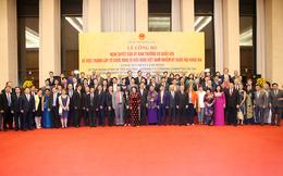 Công bố nhân sự Tổ chức Nghị sĩ hữu nghị Việt Nam