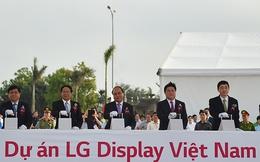 Thủ tướng Nguyễn Xuân Phúc dự lễ khởi công nhà máy tỷ đô