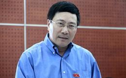 Phó Thủ tướng Phạm Bình Minh lên tiếng về việc vay Trung Quốc gần 7.000 tỷ đồng làm đường cao tốc