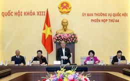 Thông cáo phiên họp thứ 44 của Ủy ban thường vụ Quốc hội khóa XIII