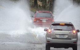 Cách xử lý các tình huống khi lái xe trong mùa mưa