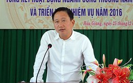Chưa nhận được đơn xin ra Đảng của ông Trịnh Xuân Thanh