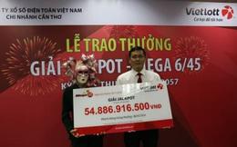 2 vé trúng thưởng giải Jackpot 160 tỷ được phát hành tại Sài Gòn và Quảng Ninh
