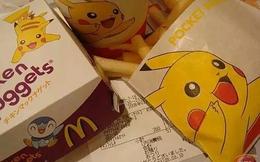 Cổ phiếu McDonald's tăng 10% sau khi tuyên bố làm việc với Pokemon Go