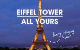 Sáng đi xem chung kết EURO 2016, tối về ngủ trên tháp Eiffel không còn là chuyện mơ giữa ban ngày