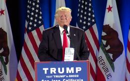 """Donald Trump lại phát ngôn gây sốc: """"Hillary Clinton sẽ phải ngồi tù"""""""