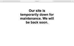 """Trang web của T&A Ogilvy """"tạm thời đóng cửa để bảo trì"""""""