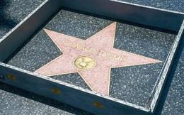 Ngôi sao của Donald Trump trên Đại Lộ Danh Vọng bị quây kín bởi hàng rào thép gai