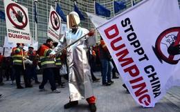 5.000 người châu Âu biểu tình phản đối thép giá rẻ của Trung Quốc