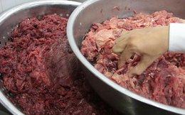 Đề nghị khởi tố hình sựvụ biến thịt heo thành thịt bò