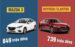 Hyundai Elantra 2016 vs Mazda 3: Có đủ sức soán ngôi?