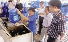Bêu tên 7 cơ sở sản xuất nước đóng chai vi phạm vệ sinh an toàn thực phẩm