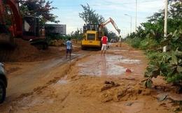 Đình chỉ công ty Tân Quang Cường sau sự cố vỡ hồ chứa nước đãi titan