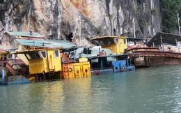 Thành phố Hạ Long bất lực nhìn nhiều tàu tiền tỷ bị bỏ hoang trên Vịnh Hạ Long
