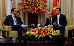 Ông Đinh La Thăng đề nghị gì khi gặp Tổng thống Pháp Francois Hollande?