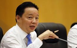 Bộ trưởng Trần Hồng Hà: báo cáo môi trường từ Formosa quá chung chung