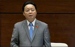"""Bộ trưởng Tài Nguyên – Môi trường: """"Biển miền Trung đã an toàn"""""""