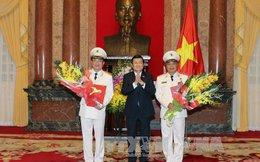 Hai Thứ trưởng Bộ Công an được phong hàm Thượng tướng