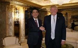 Cận cảnh cuộc gặp giữa Donald Trump và Thủ tướng Nhật Bản trong căn hộ dát vàng