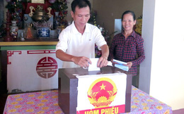 Nam Định, Thái Bình, Hà Nam bầu bổ sung đại biểu HĐND cấp xã
