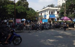 Chưa đóng cửa bãi trông giữ xe Bệnh viện Bạch Mai