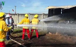 Lại cháy ở Khu kinh tế Nghi Sơn, Thanh Hóa
