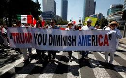 Người Mexico biểu tình rầm rộ phản đối Tổng thống Trump