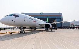 Máy bay chở khách do Trung Quốc sản xuất sắp bay chuyến đầu tiên