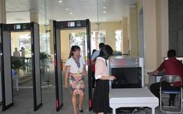 Trụ sở UBND TP.HCM có cửa kiểm tra an ninh