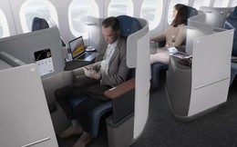 """Tận hưởng chiếc ghế ngồi như """"ngai vàng"""" trong khoang hạng thương gia trên máy bay của Lufthansa"""