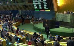 Hơn 120 nước Liên hiệp quốc chống quyết định của ông Trump về Jerusalem