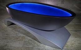 """Bồn tắm đổi màu tùy tâm trạng này chắc chắn là thiết bị phòng tắm """"ảo diệu"""" nhất bạn từng nhìn thấy"""